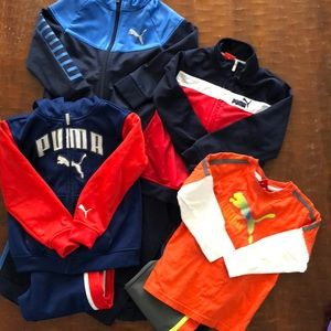 Lot of 4T Puma outfits